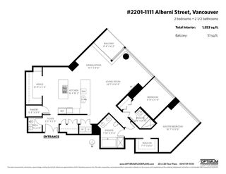 """Photo 20: 2201 1111 ALBERNI Street in Vancouver: West End VW Condo for sale in """"SHANGRI-LA RESIDENCES"""" (Vancouver West)  : MLS®# R2370104"""
