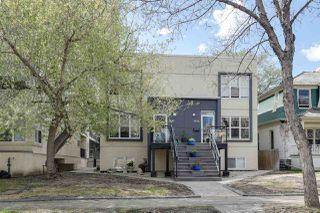 Photo 1: 9842 112 Street in Edmonton: Zone 12 House Half Duplex for sale : MLS®# E4157020