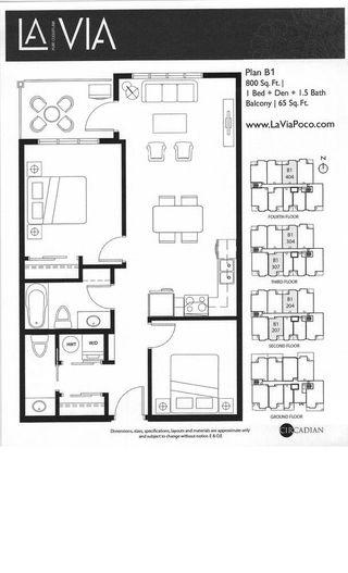"""Photo 58: 204 2351 KELLY AVENUE in """"LA VIA"""": Home for sale : MLS®# R2034370"""