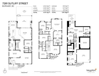 Photo 2: 7281 SUTLIFF Street in Burnaby: Montecito House for sale (Burnaby North)  : MLS®# R2503987