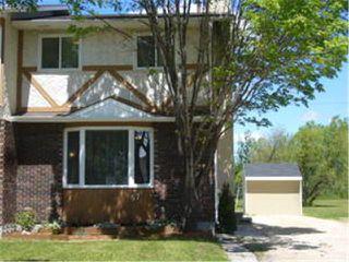 Main Photo: 57 BIRCHBARK Bay in WINNIPEG: West Kildonan / Garden City Residential for sale (North West Winnipeg)  : MLS®# 1111702