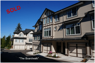 "Photo 1: 60 7090 180TH Street in Surrey: Cloverdale BC Townhouse for sale in ""THE BOARDWALK"" (Cloverdale)  : MLS®# F1323453"