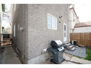 Photo 19: 554 Beverley Street in WINNIPEG: West End / Wolseley Residential for sale (West Winnipeg)  : MLS®# 1410900