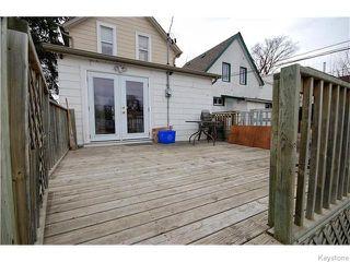 Photo 15: 345 Dumoulin Street in Winnipeg: St Boniface Residential for sale (South East Winnipeg)  : MLS®# 1608261
