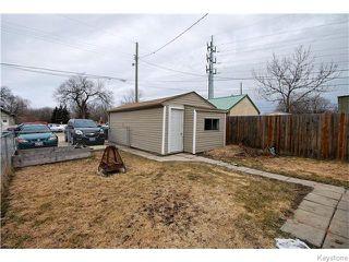 Photo 16: 345 Dumoulin Street in Winnipeg: St Boniface Residential for sale (South East Winnipeg)  : MLS®# 1608261
