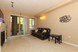 "Photo 3: 111 2969 WHISPER Way in Coquitlam: Westwood Plateau Condo for sale in ""SUMMERLIN AT SILVER SPRING"" : MLS®# R2095964"
