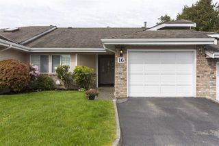 """Photo 1: 16 5051 203 Street in Langley: Langley City Townhouse for sale in """"Meadowbrook Estates"""" : MLS®# R2163676"""