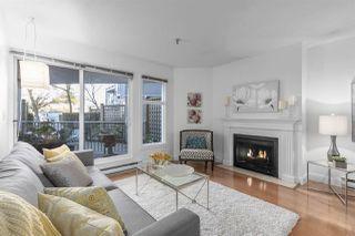 "Main Photo: 108 2020 W 8TH Avenue in Vancouver: Kitsilano Condo for sale in ""AUGUSTINE GARDENS"" (Vancouver West)  : MLS®# R2323601"