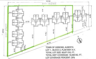 Photo 2: 51 Street & 48 Avenue: Gibbons Vacant Lot for sale : MLS®# E4136308