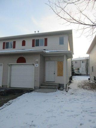 Main Photo: 46 451 HYNDMAN Crescent in Edmonton: Zone 35 Townhouse for sale : MLS®# E4138328