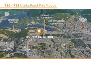 Main Photo: 926 - 932 CLARKE Road in Port Moody: College Park PM House Duplex for sale : MLS®# R2335896