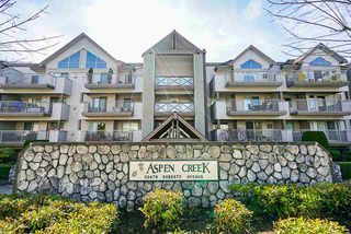 "Photo 1: 314 33478 ROBERTS Avenue in Abbotsford: Central Abbotsford Condo for sale in ""Aspen Creek"" : MLS®# R2355153"