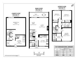 Photo 16: 7347 CORONADO Drive in Burnaby: Montecito Townhouse for sale (Burnaby North)  : MLS®# R2364748