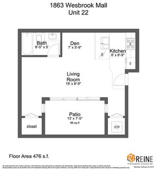"""Photo 16: 22 1863 WESBROOK Mall in Vancouver: University VW Condo for sale in """"Esse"""" (Vancouver West)  : MLS®# R2367209"""