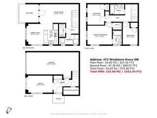 Photo 25: 472 WINDSTONE Grove SW: Airdrie Semi Detached for sale : MLS®# A1030330
