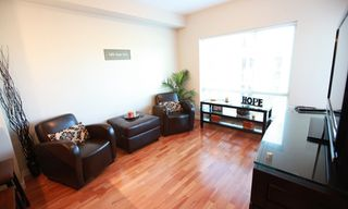 "Photo 3: 318 13789 107A Avenue in Surrey: Whalley Condo for sale in ""Quattro 2"" (North Surrey)  : MLS®# F1126555"