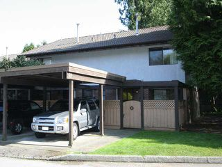 Photo 1: 52 3046 Coast Meridian Road in Port Coquitlam: Birchland Manor Townhouse for sale : MLS®# V946274