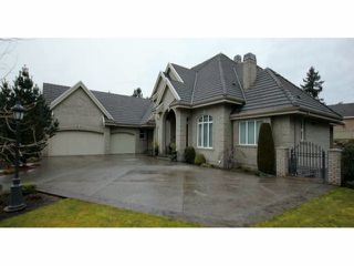 """Photo 1: 12495 55TH Avenue in Surrey: Panorama Ridge House for sale in """"PANORAMA RIDGE"""" : MLS®# F1403222"""