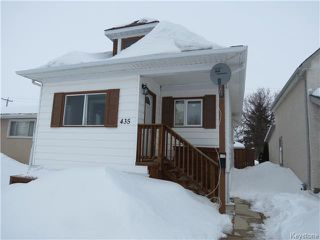 Photo 1: 435 Trent Avenue in WINNIPEG: East Kildonan Residential for sale (North East Winnipeg)  : MLS®# 1404047