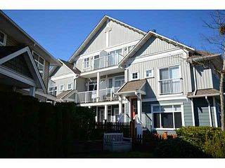 "Photo 1: 49 6300 LONDON Road in Richmond: Steveston South Townhouse for sale in ""MCKINNEY CROSSING"" : MLS®# V1051731"