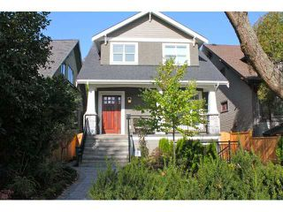 Main Photo: 3649 W 1ST AV in Vancouver: Kitsilano House 1/2 Duplex for sale (Vancouver West)  : MLS®# V935243