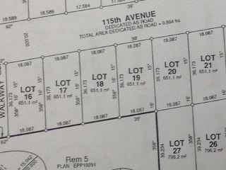 Main Photo: LOT 18 115 Street in Fort St. John: Fort St. John - City NW Land for sale (Fort St. John (Zone 60))  : MLS®# N241500
