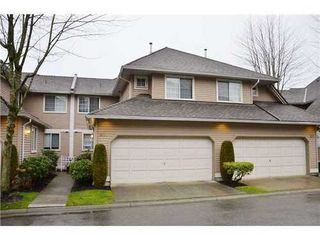 Photo 1: 81 2615 FORTRESS Drive in Port Coquitlam: Citadel PQ Home for sale ()  : MLS®# V983531