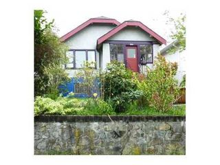 Photo 1: 604 21ST Ave E in Vancouver East: Fraser VE Home for sale ()  : MLS®# V887611