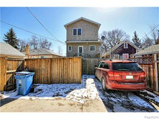 Photo 20: 849 Hector Avenue in Winnipeg: Manitoba Other Residential for sale : MLS®# 1607796
