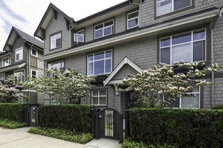 "Photo 1: 718 ORWELL Street in North Vancouver: Lynnmour Townhouse for sale in ""Wedgewood by Polygon"" : MLS®# R2076564"