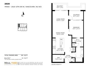 "Photo 15: 405 2020 W 12TH Avenue in Vancouver: Kitsilano Condo for sale in ""2020"" (Vancouver West)  : MLS®# R2166280"