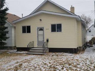 Photo 1: 245 Amherst Street in Winnipeg: Deer Lodge Residential for sale (5E)  : MLS®# 1831268