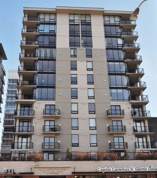Photo 1: 302 11933 JASPER Avenue in Edmonton: Zone 12 Condo for sale : MLS®# E4147055
