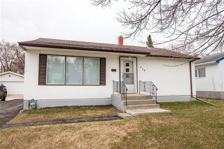 Photo 1: 439 Davidson Street in Winnipeg: Silver Heights Residential for sale (5F)  : MLS®# 1909855