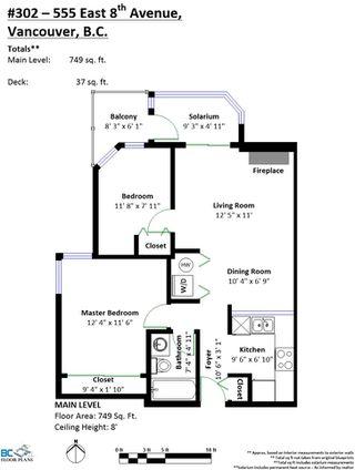 """Photo 24: 302 555 E 8TH Avenue in Vancouver: Mount Pleasant VE Condo for sale in """"555 E 8TH AVENUE"""" (Vancouver East)  : MLS®# R2479990"""