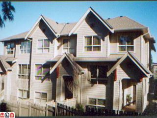 Main Photo: 76 2738 158TH Street in Surrey: Grandview Surrey Townhouse for sale (South Surrey White Rock)  : MLS®# F1103275