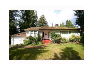 Photo 1: 2590 NEWMARKET Drive in North Vancouver: Capilano Highlands House for sale : MLS®# V939263