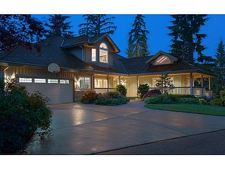 Photo 1: 1060 THOMSON RD: Anmore House for sale (Port Moody)  : MLS®# V1010190
