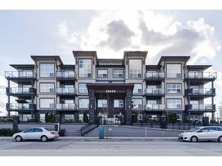 "Photo 1: 104 20630 DOUGLAS Crescent in Langley: Langley City Condo for sale in ""Blu"" : MLS®# F1406027"