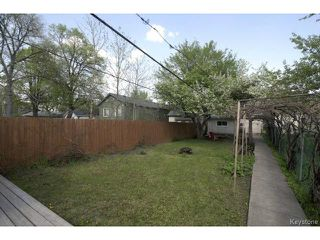 Photo 15: 636 Minto Street in WINNIPEG: West End / Wolseley Residential for sale (West Winnipeg)  : MLS®# 1513809