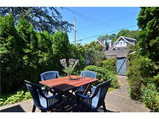 "Photo 16: 2011 CREELMAN Avenue in Vancouver: Kitsilano House for sale in ""KITS POINT"" (Vancouver West)  : MLS®# V1128858"