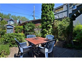 "Photo 12: 2011 CREELMAN Avenue in Vancouver: Kitsilano House for sale in ""KITS POINT"" (Vancouver West)  : MLS®# V1128858"