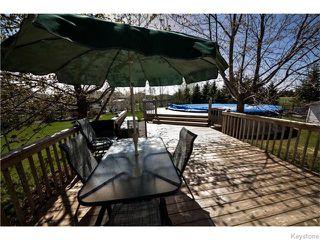 Photo 20: 30 Peach Bay in Oakbank: Anola / Dugald / Hazelridge / Oakbank / Vivian Residential for sale (Winnipeg area)  : MLS®# 1606650
