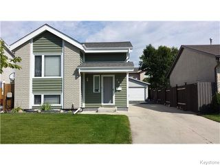 Photo 1: 106 Brotman Bay in Winnipeg: St Vital Residential for sale (South East Winnipeg)  : MLS®# 1607853