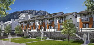 """Photo 1: 63 1188 MAIN Street in Squamish: Downtown SQ Townhouse for sale in """"SOLEIL AT COASTAL VILLAGE"""" : MLS®# R2135362"""
