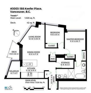 """Photo 16: 3003 188 KEEFER Place in Vancouver: Downtown VW Condo for sale in """"Espana"""" (Vancouver West)  : MLS®# R2165128"""