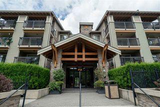 "Photo 1: 107 5655 210A Street in Langley: Salmon River Condo for sale in ""Cornerstone"" : MLS®# R2383444"
