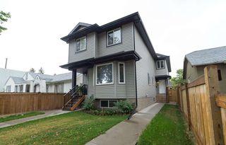 Main Photo: 11439 101 Street in Edmonton: Zone 08 House Half Duplex for sale : MLS®# E4184823