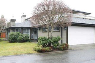 "Photo 1: 124 16080 82 Avenue in Surrey: Fleetwood Tynehead Townhouse for sale in ""Ponderosa Estates"" : MLS®# R2526469"