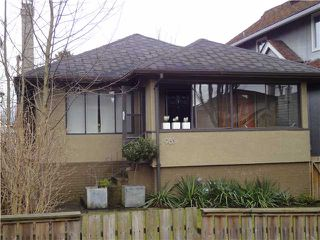 Photo 1: 985 W 23RD Avenue in Vancouver: Cambie House for sale (Vancouver West)  : MLS®# V876823
